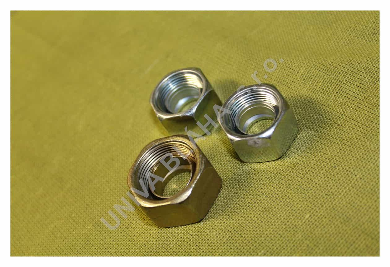 Převlečná matice se zářezným prstýnkem 12L
